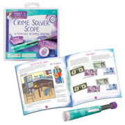 Nancy B's Science Club™ Crime Solver Scope & Forensic Activity Journal