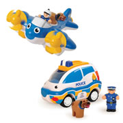 WOW® Police Patrol Pals Playset