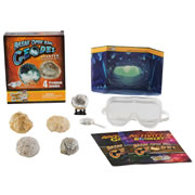 Break Open Real Geodes Starter Kit (4 Geodes)