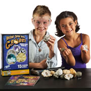 Break Open Real Geodes World's Best Geode Kit (15 Geodes)