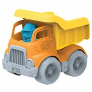 Dumper Construction Truck with Dog Figure