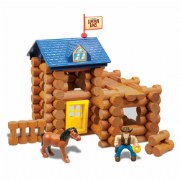 Lincoln Logs® Horseshoe Hill Station (83 Pieces)