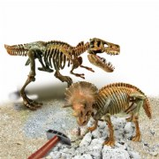 Clementoni ArcheoFUN - T-Rex and Triceratops Dig