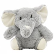 "10"" Baberoo Washable Elephant Plush"