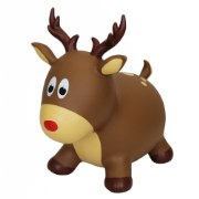 Farm Hoppers® Inflatable Bouncing Reindeer