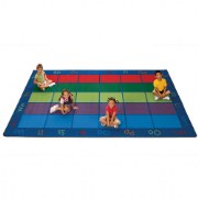 Colorful Places Seating Rugs