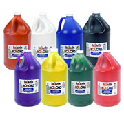 Kaplan Kolors Washable Tempera Paint Gallon Assortment (Set of 8)
