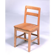 "14"" Oak Chair"