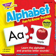 Alphabet Fun To Know Puzzles