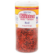 Spectra Glitter - Red (4 ounces)