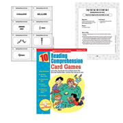 Grades 3 - 5. Easy-to-play games that will boost your students' students comprehension skills while getting them ready for the standardized tests.