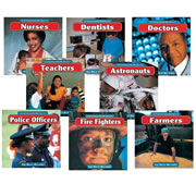 Community Helpers Book Set (Set of 8)