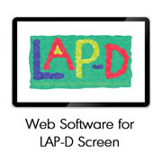 Web Software for LAP-D™ Individual Screen