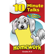 10 Minute Talks: Homework Grades K - 5