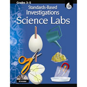 Standards-Based Investigations: Science Labs Grades 3-5 + CD