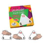 Triangle Flash Cards Addition and Subtraction