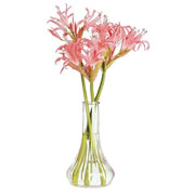 "6"" Clear Bud Vase"