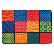 Patterns at Play KID$ Value Rugs