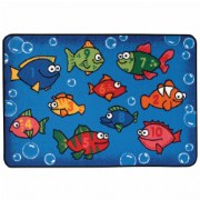Something Fishy Rug - 4' x 6' (Factory Second)