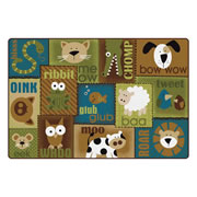 Animal Sounds Toddler Rug - Nature