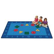 Early Learning Value Rug - 6' x 9' (Factory Second)