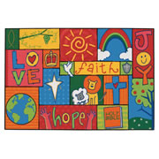 Inspirational Patchwork KID$ Value Rugs