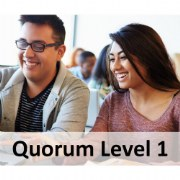 Quorum 1-Year Premium Membership Level 1 (Up to 25 Staff/Providers)
