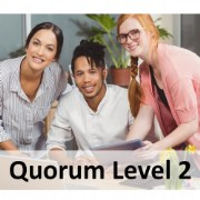 Quorum 1-Year Premium Membership Level 2 (Up to 40 Staff/Providers)