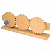 Simple Machine - Gear Train Model