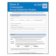 HCSBS™ Scales Rating Form