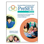 PreSET Manual, Research Edition (Paperback)