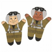 Air Force Puppets (Set of 2)