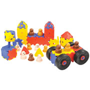 Jr. Polydron (124 Piece Set)