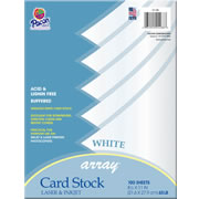 White Card Stock (100 Sheets)