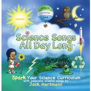 Science Songs All Day Long CD