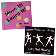 Move with Dr. Jean CD Collection (Set of 2)
