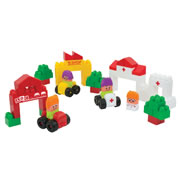 Super Blocks City Set (62 Pieces)