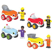WOW! Mini Vehicles (Set of 4)