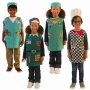 Career Dress-Ups (Set of 4)