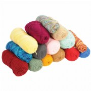 Assorted Craft Yarn (5 lbs.)