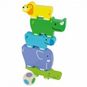Friendly Animal Stackers (11 Pieces)