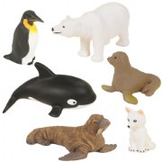 Polar Animals - Set of 6