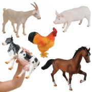 Large Soft and Squeezable Farm Animals (Set of 5)