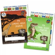 Kindergarten Letters alive® and Math alive® Student Journals - Set of 2
