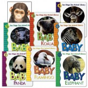 San Diego Zoo Board Book Set (Set of 8)