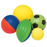 Pass, dribble, shoot, kick, and hit with these safe, soft balls, perfect for giving beginners confidence!