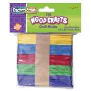 Colored Craft Sticks (150 Pieces)