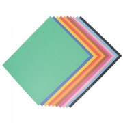 Poster Board - Assorted (100  Sheets)