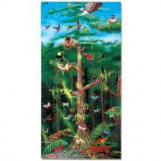 Rain Forest 100 Piece Floor Puzzle