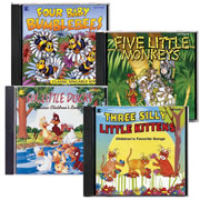 Sing Along Classics CD Collection (Set of 4)